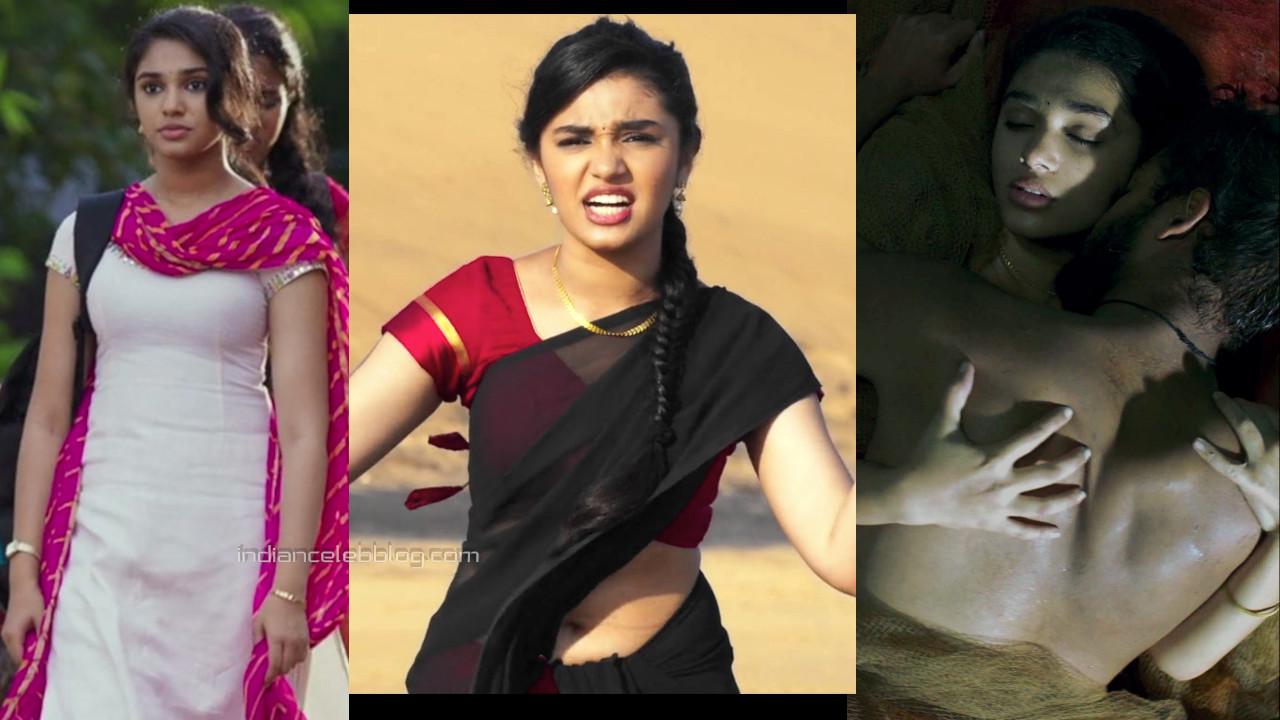 Krithi shetty telugu actress hot saree pics hd caps