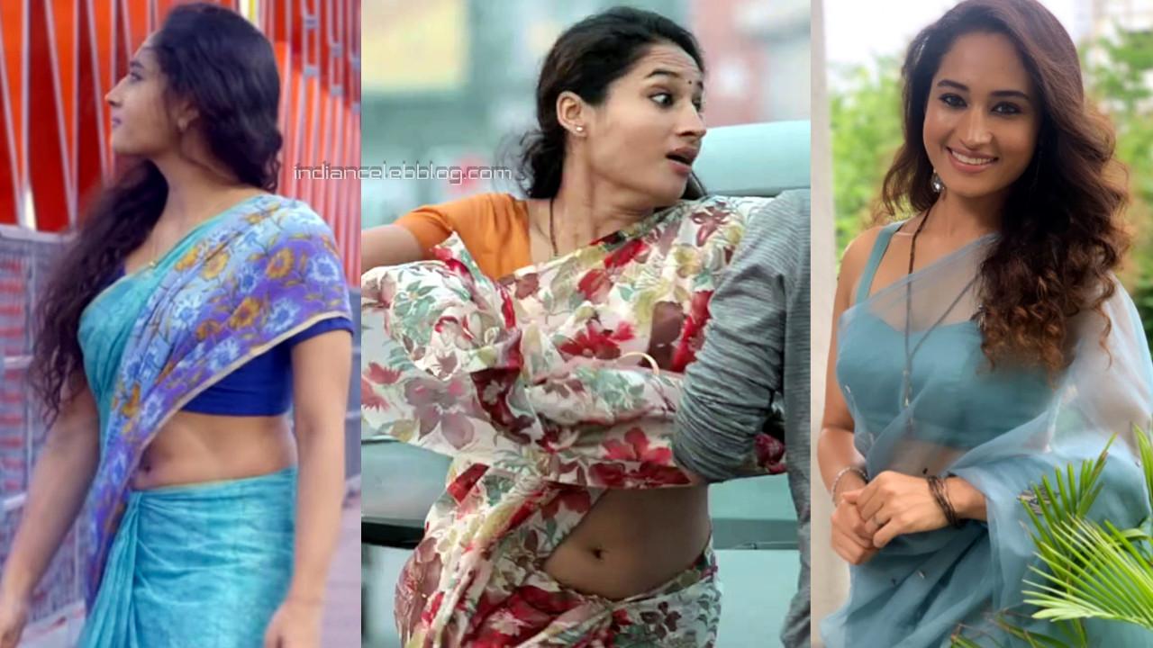 Pooja ramachandran telugu actress hot saree navel show stills hd caps