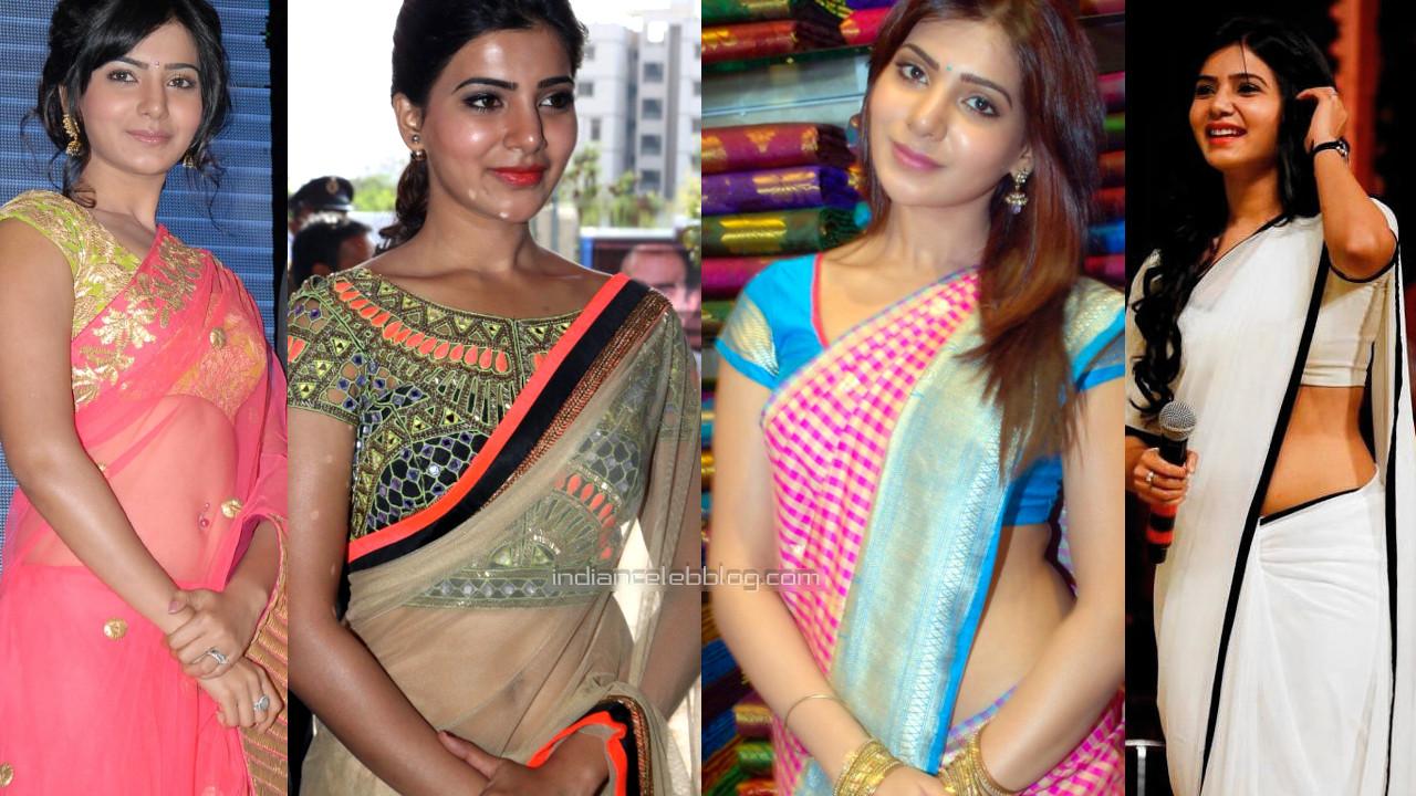 Samantha akkineni tollywood actress hot event pics in saree