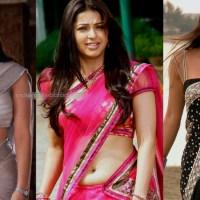 Bhumika chawla telugu actress hot saree navel show photo gallery