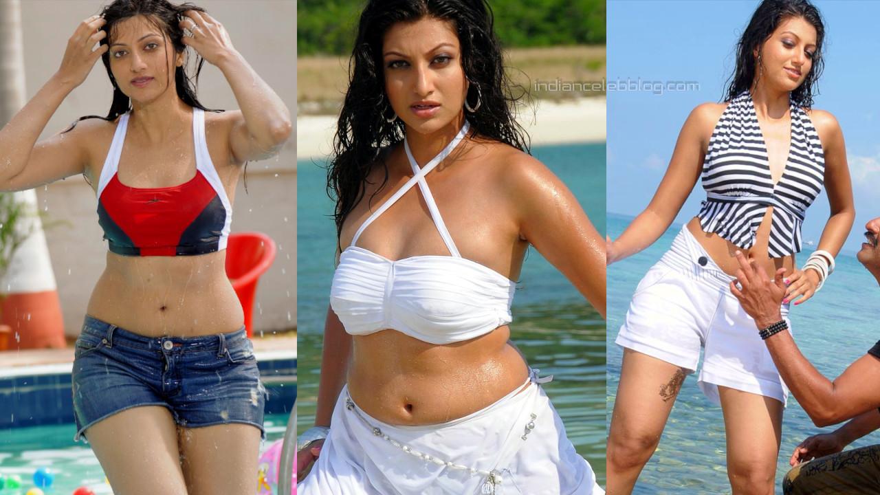 Hamsa nandini telugu actress hot navel show stills photo gallery