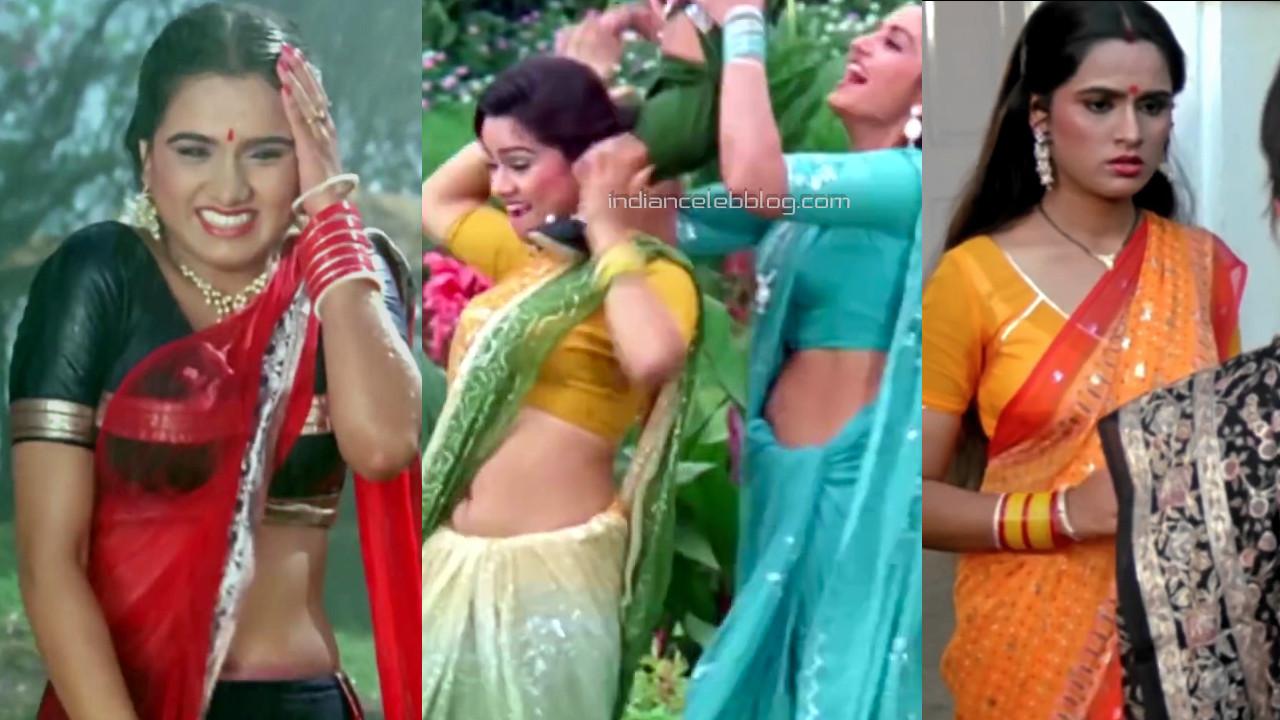 Padmini kolhapure hindi actress hot transparent saree pics hd caps