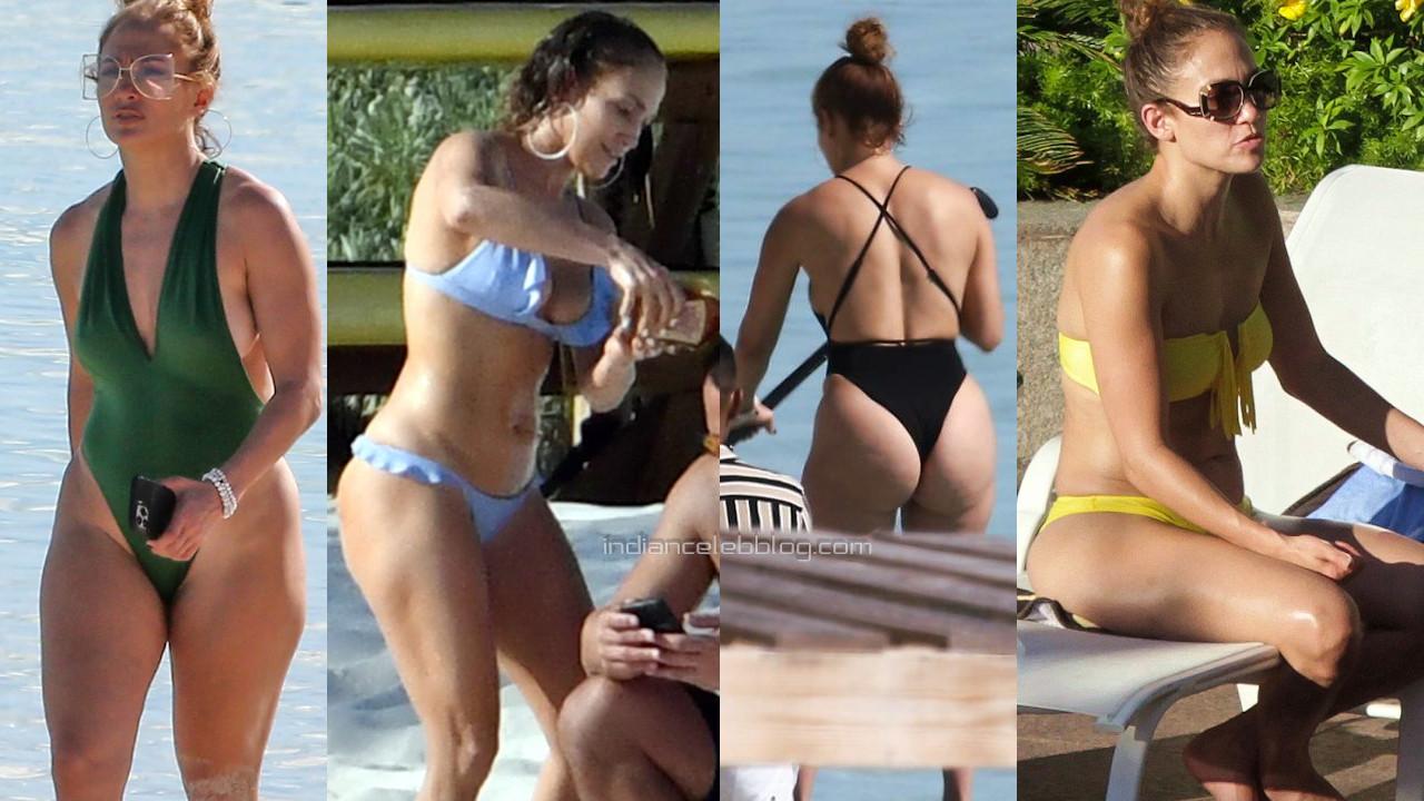 Jennifer lopez sexy bikini swimsuit beach paparazzi pics