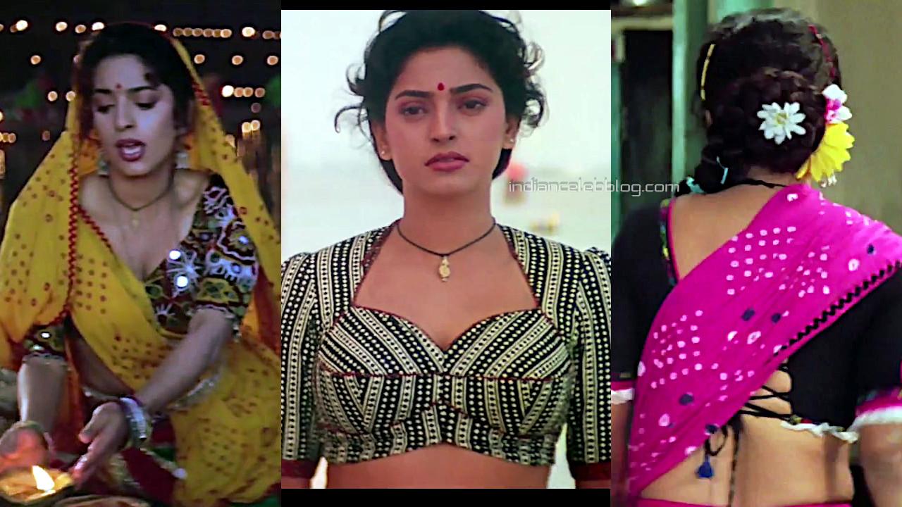Juhi chawla hot saree bandish bollywood movie pics hd captures