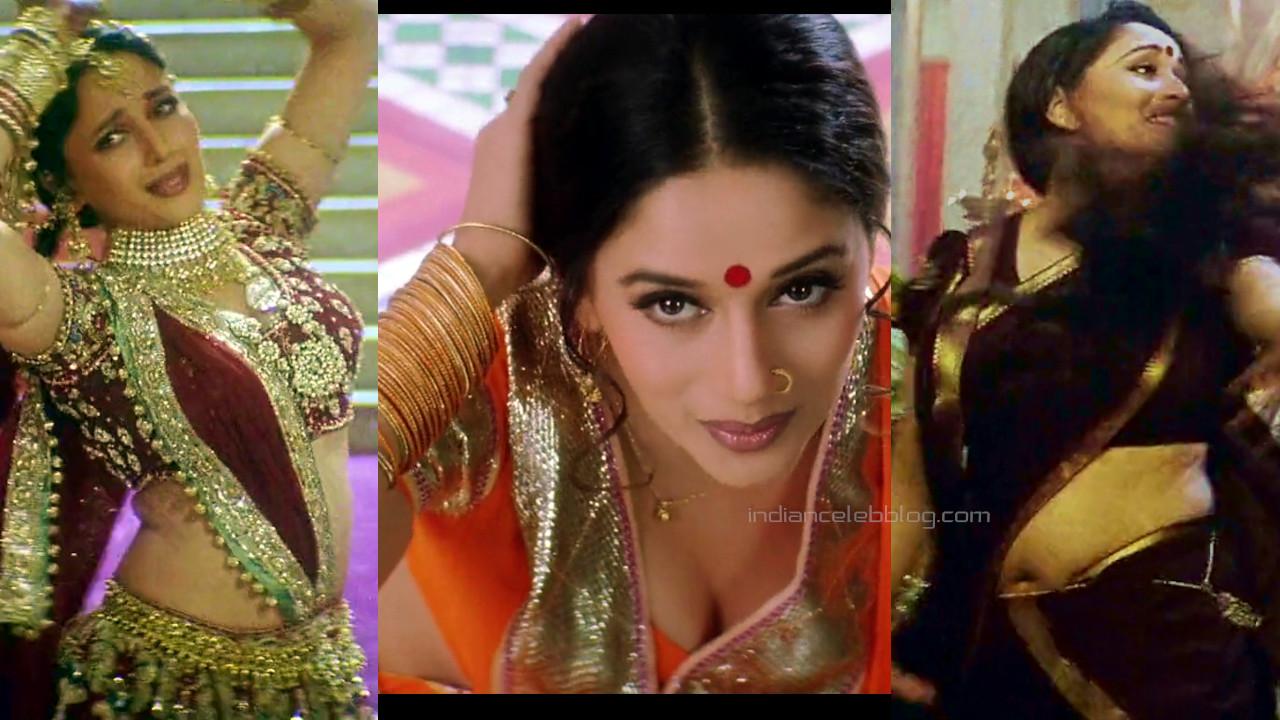 Madhuri dixit hot saree pics hd caps devdas shah rukh khan movie