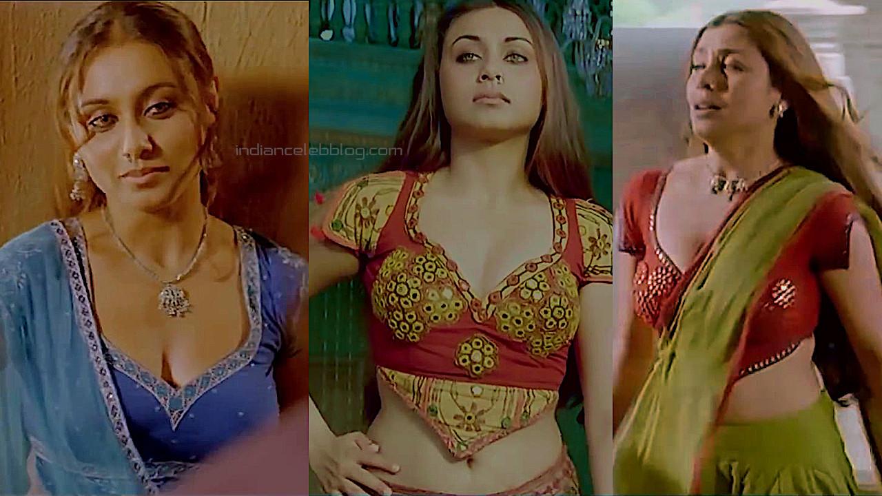 Rani mukerji bollywood sexy cleavage Mangal pandey pics hd caps