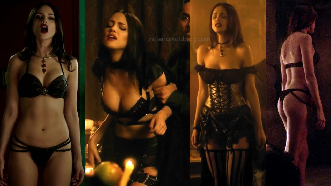 Eiza gonzález from dusk till dawn tv series hot lingerie screenshots