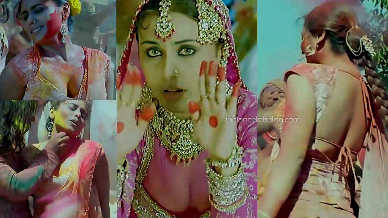 Rani mukerji mangal pandey hindi movie hot cleavage stills hd caps