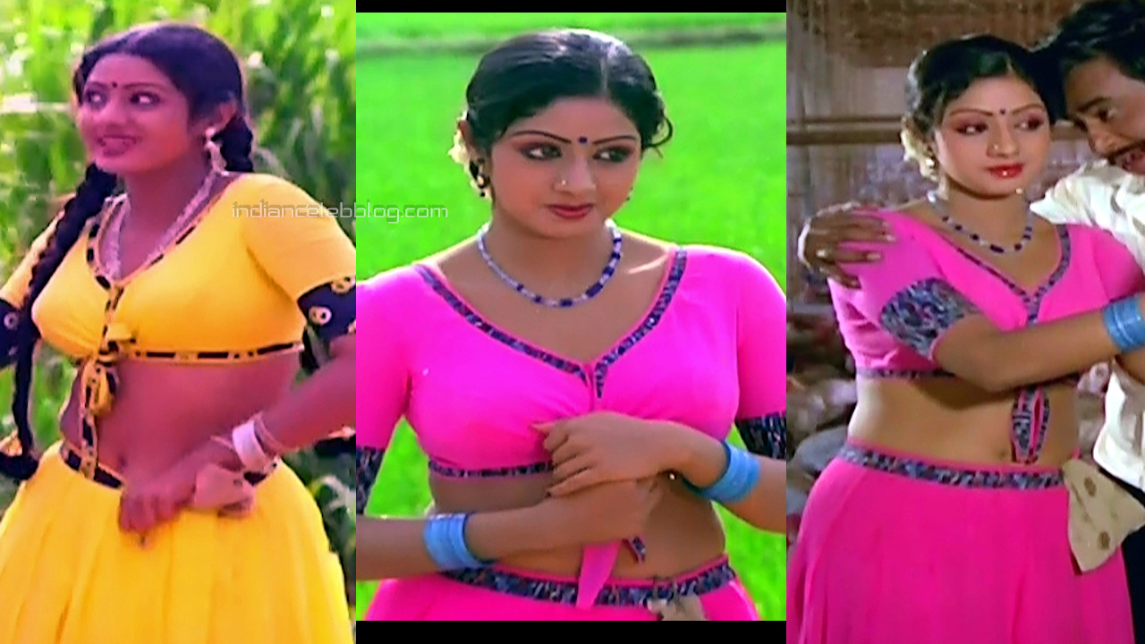 Sridevi tamil movie ranuva veeran hot midriff dress pics gallery