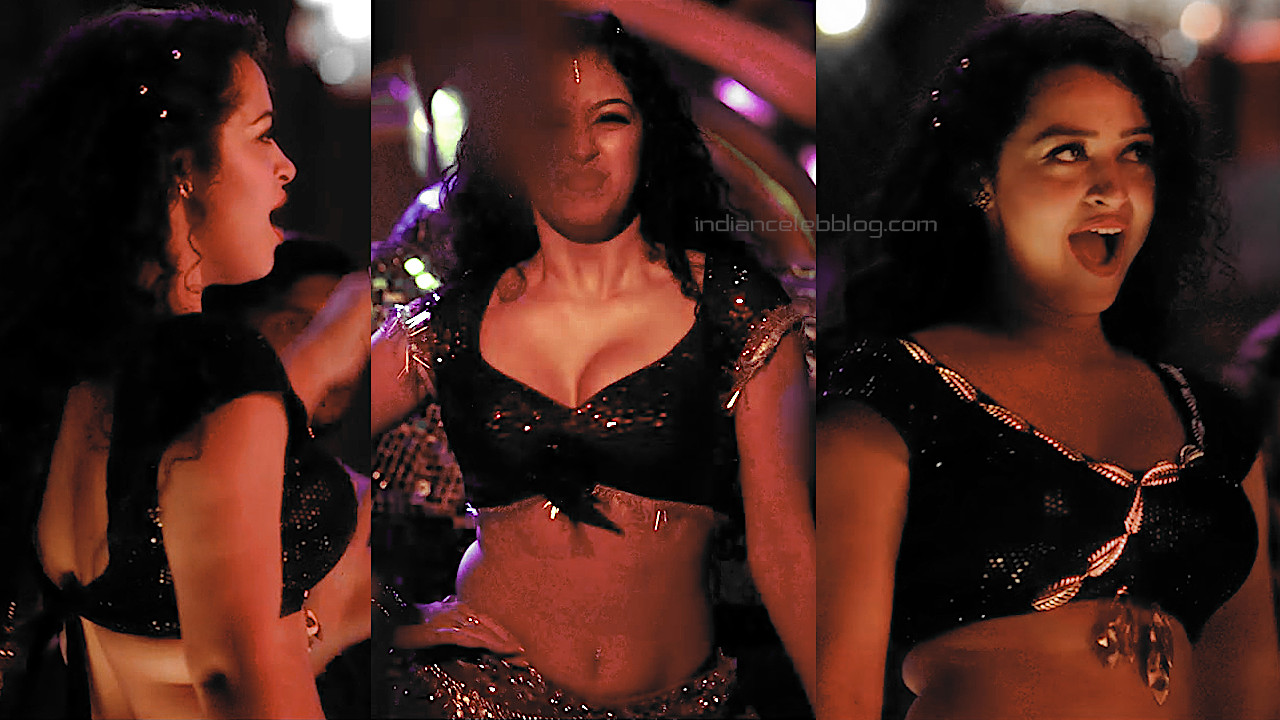 Apsara rani Krack telugu movie hot item song hot stills hd caps