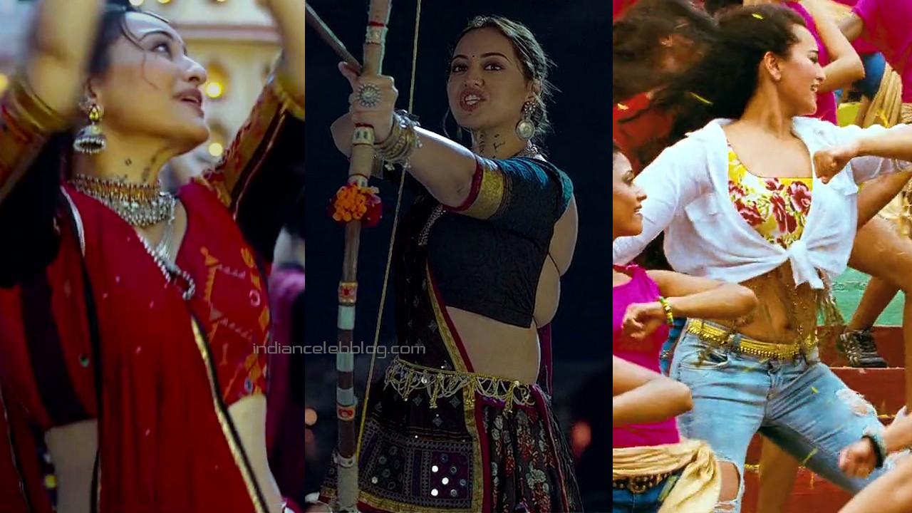 Sonakshi sinha hot stills Bhuj the pride of india n OMG hd caps