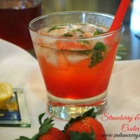 Strawberry and Mint Cooler