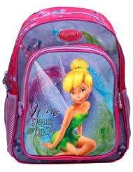 Lil Genius Disney Fairies Lilac School Bag