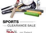 sports clearance sale