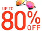 Upto 80% OFF on Branded Sunglasses at Jabong