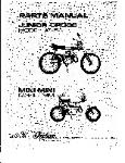 Indian Dirtbike Parts Lists & Manuals