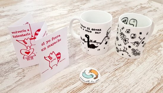 ¡Pedazo de foto de nuestras tazas nos manda @mamen_fajardo!