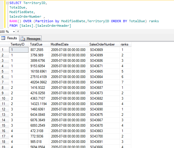 ROW_NUMBER()   Learn & Share ASP.NET & SQL SERVER