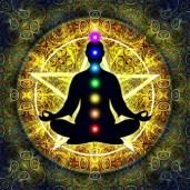 In Meditation mit Chakren