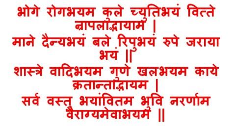 Yoga of Renunciation bhartihari