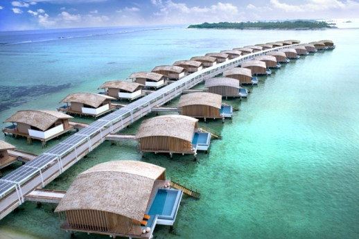 Club Med Finolhu island resort in Maldives.