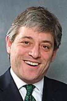 Parliament Speaker John Bercow