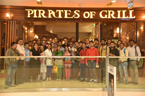 The Pirates of Grill- All India Federation of Deaf.