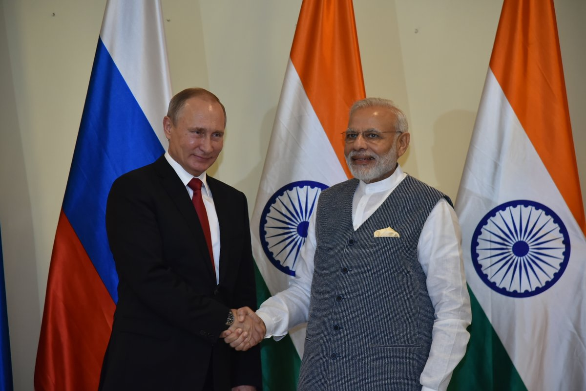 PM To Hold Informal Summit With Russian Prez Putin On May 21