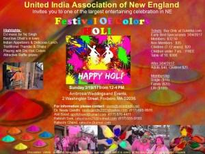 UIANE Holi 2017 @ Ambrosia Weddings and Events
