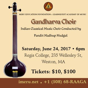 GANDHARVA CHOIR: Indian Music - Classical, Folk, Experimental @ Regis College