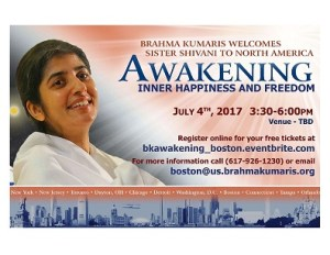 Awakening:Inner Happiness and Freedom - with Sister Shivani @ Ambrosia Weddings & Events | Foxborough | Massachusetts | United States
