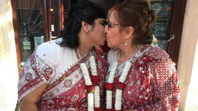 NRI woman marries a Jewish women in UK's first interfaith gay wedding