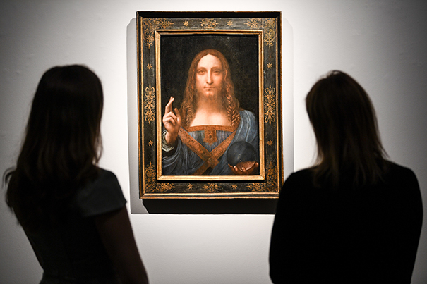 Leonardo da Vinci Painting Shatters Auction History with $450.3 Million Sell