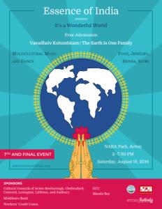 Essence Of India @ NARA PARK | Acton | Massachusetts | United States