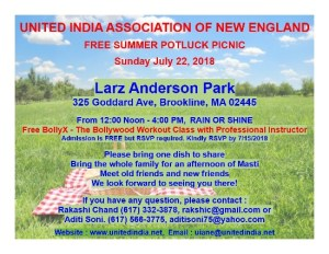 SUMMER POTLUCK PICNIC @ Larz Anderson Park | Brookline | Massachusetts | United States