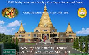 Shikhara Pooja & Shikhara Kumbhabhishekam(NESSP) @ New England Shirdi Sai Temple(NESSP)