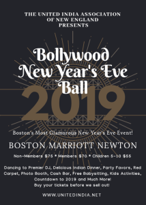 Bollywood New Year's Eve Ball @ Boston Marriot Newton | Newton | Massachusetts | United States