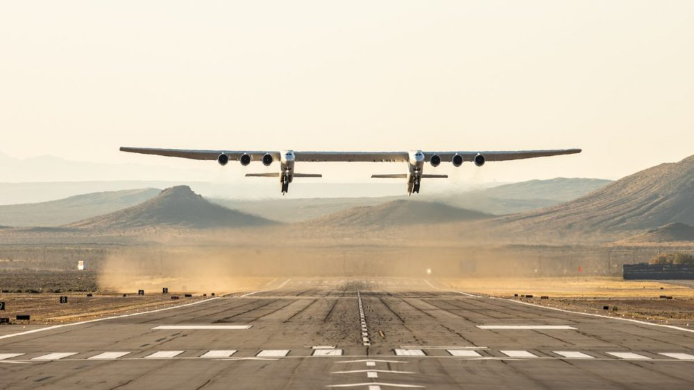 Stratolaunch plane founded by Microsoft's Paul Allen takes flight in California