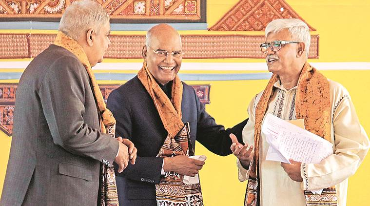 Visva Bharati University, Visva Bharati University West Bengal, Ram Nath Kovind, President Kovind, Kolkata news, Indian Express