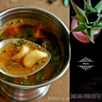 Poondu Rasam   Garlic Rasam Recipe  4.50/5.0