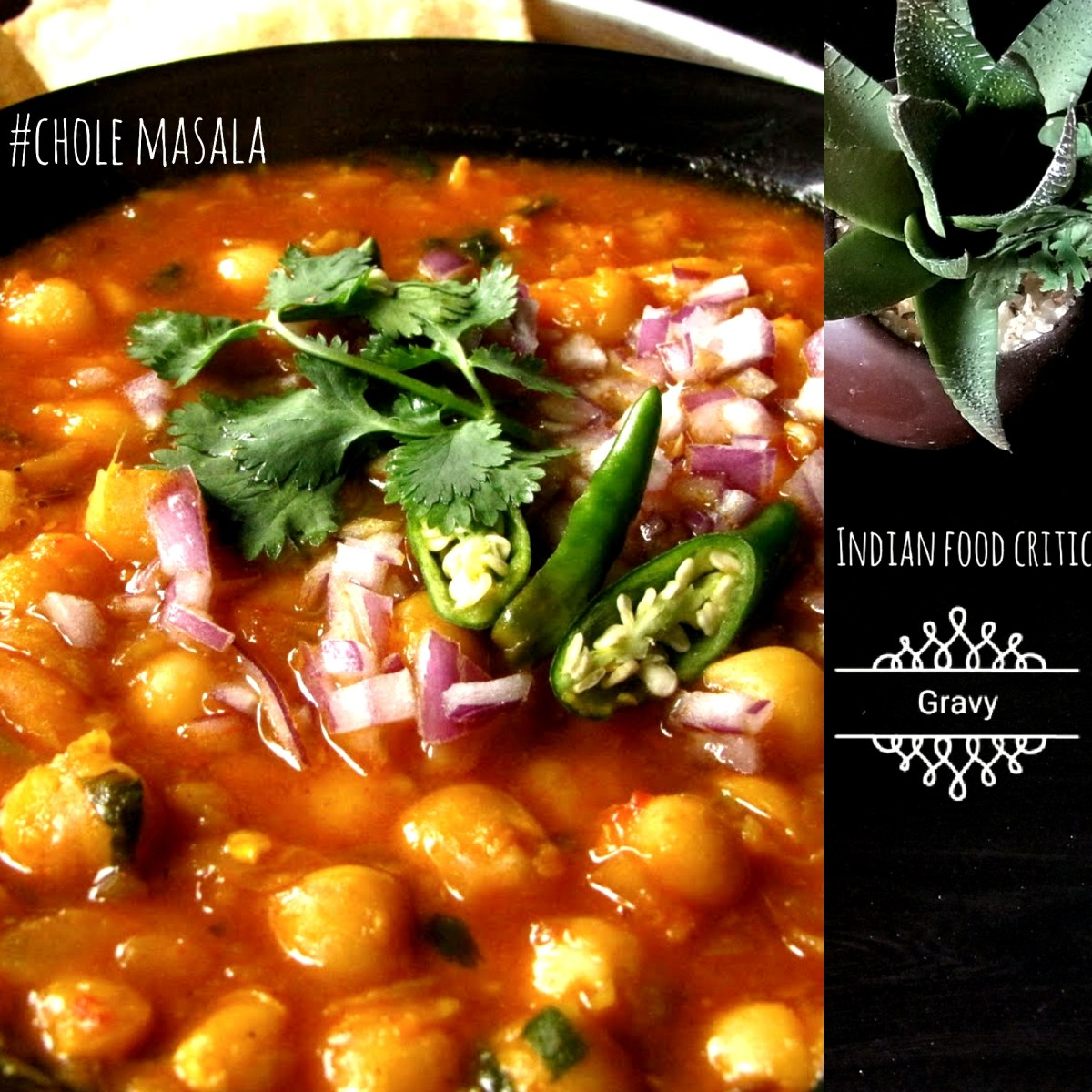 Chole Masala | Chana Masala Gravy Restaurant Style | Chickpeas Curry | 4.6/5.0