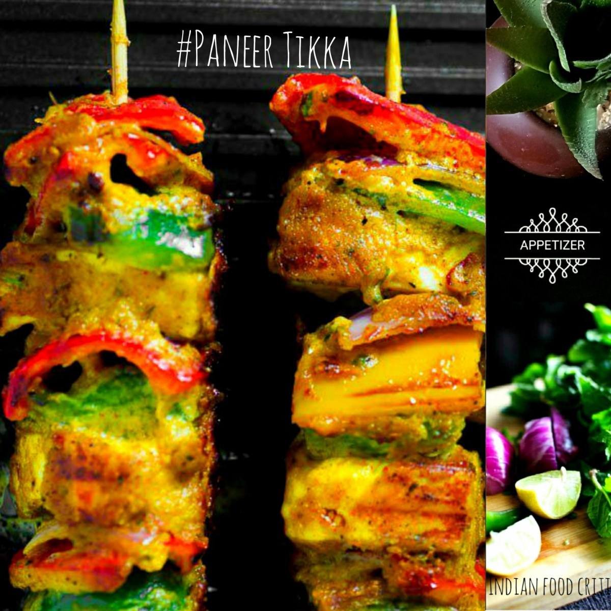 16 Paneer Tikka Recipes | Tandoori Paneer Tikka | Paneer Appetizer Recipes | 4.7/5.0