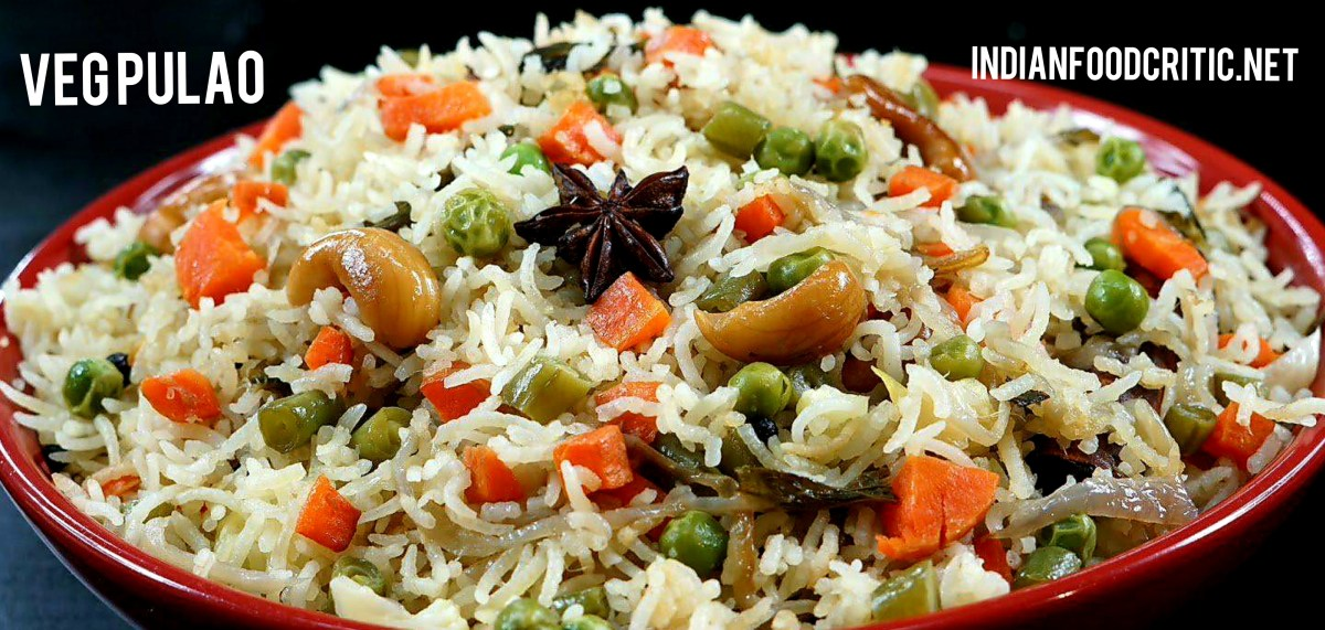 Veg Pulao Recipe | How to make Restaurant like Veg Pulao? | 5 Veg Pulav Recipes | 4.7/5.0