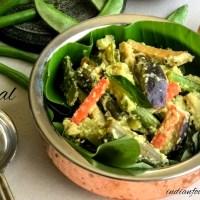 Aviyal Recipe | 5 Different Styles of Aviyal | Kerala/Tamil Nadu & Udipi Style Aviyal Recipes! | 4.50/5.0