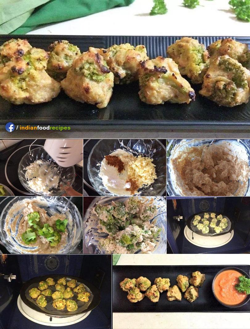 Cheesy Broccoli Florets recipe step by step