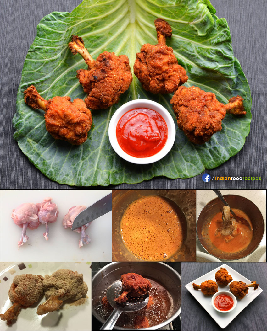 Chicken Lollipop recipe step by step
