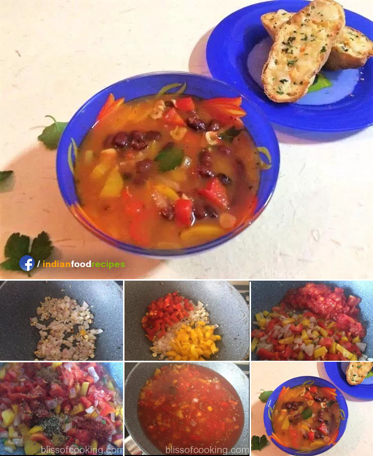 Chilli Bean Soup recipe step by step