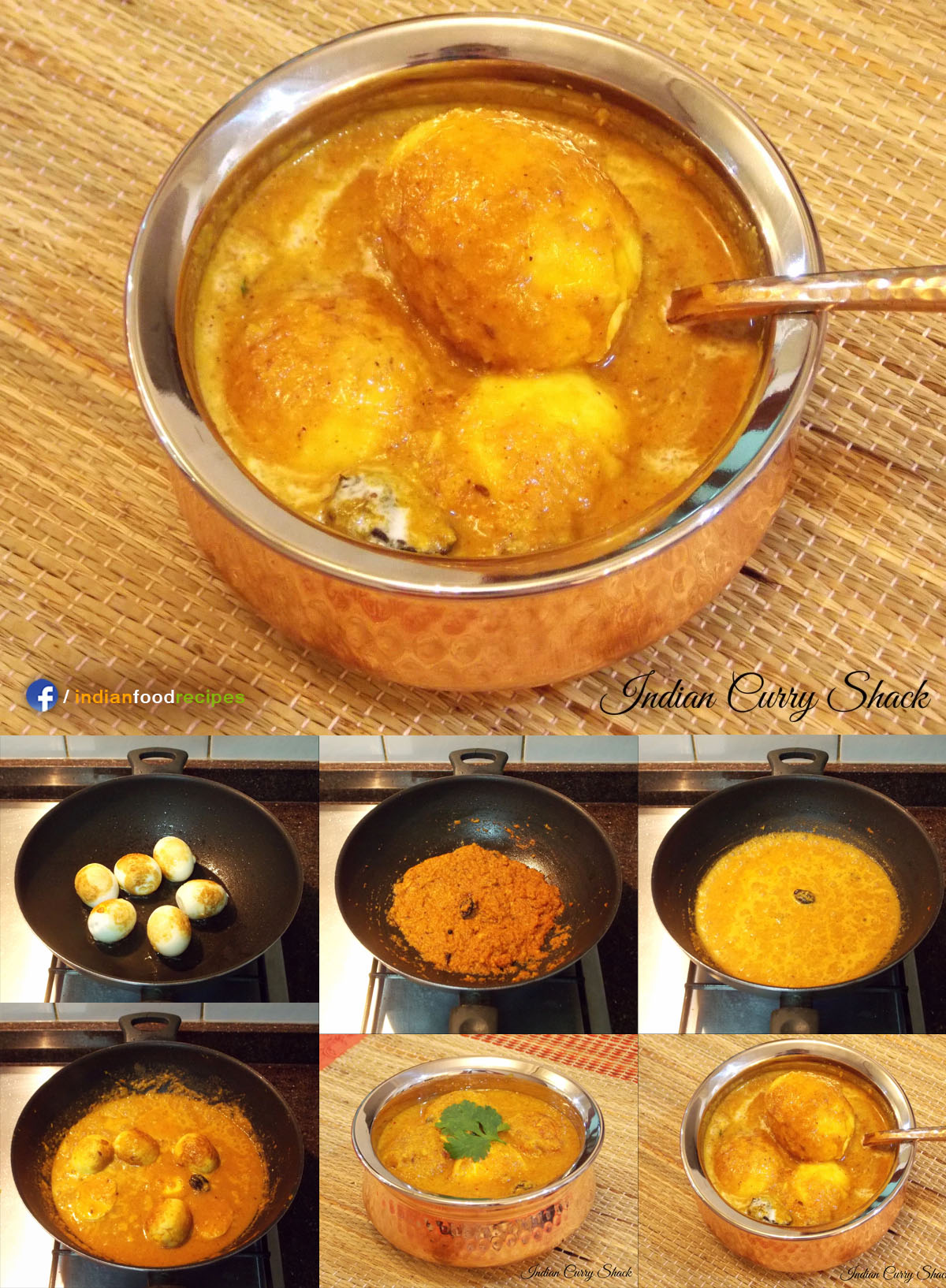 Egg Curry recipe step by step