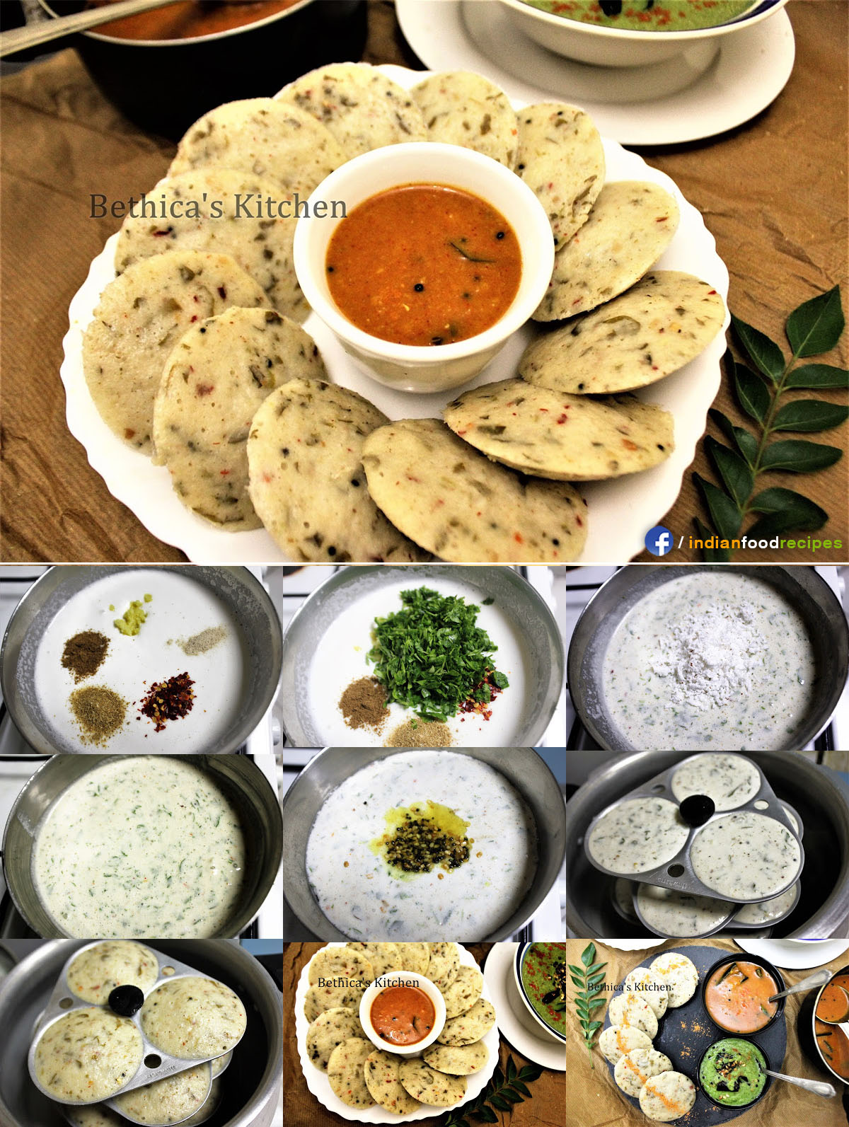 Healthy and Nutritious Methi Leaves Idli recipe step by step