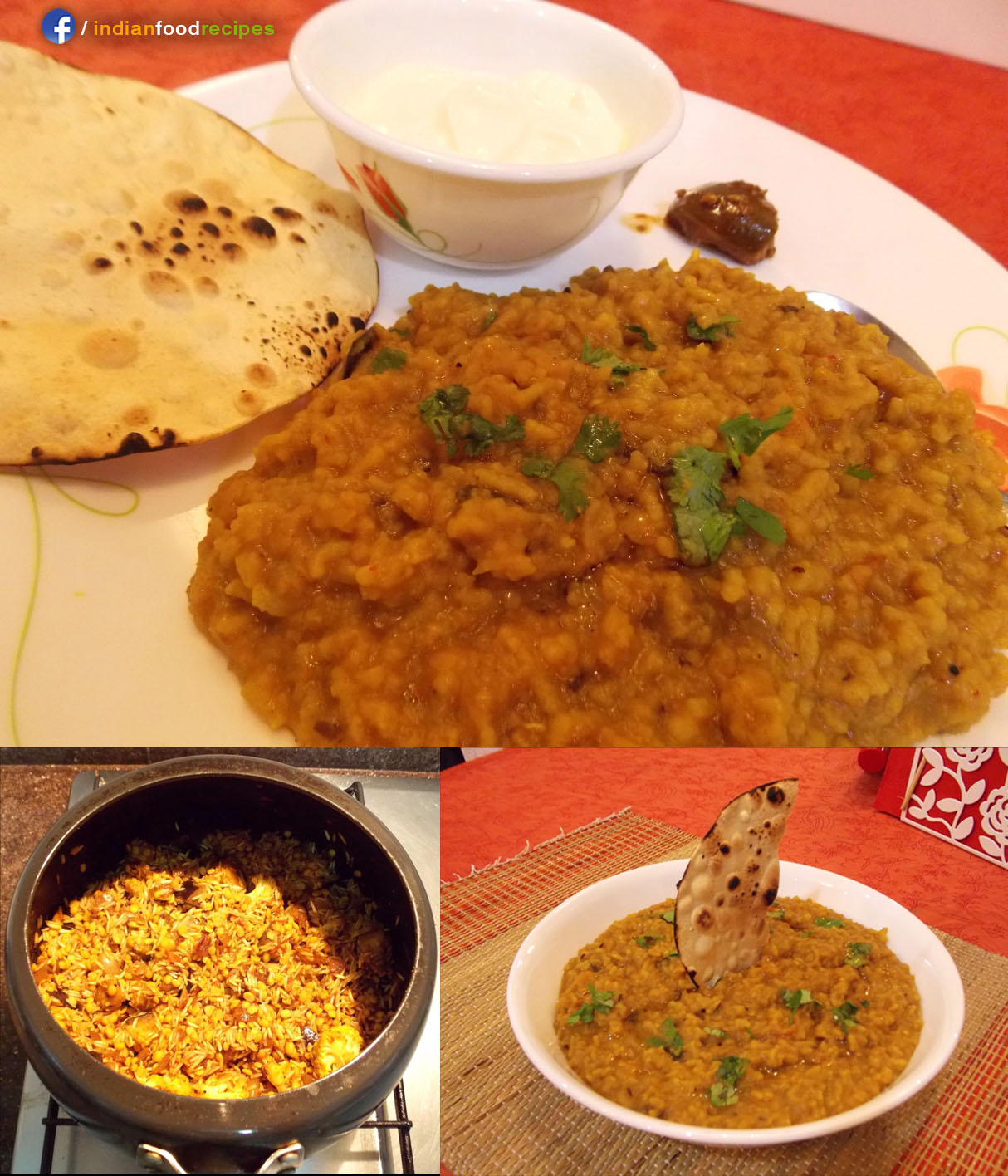 Masala Dal Khichdi recipe step by step